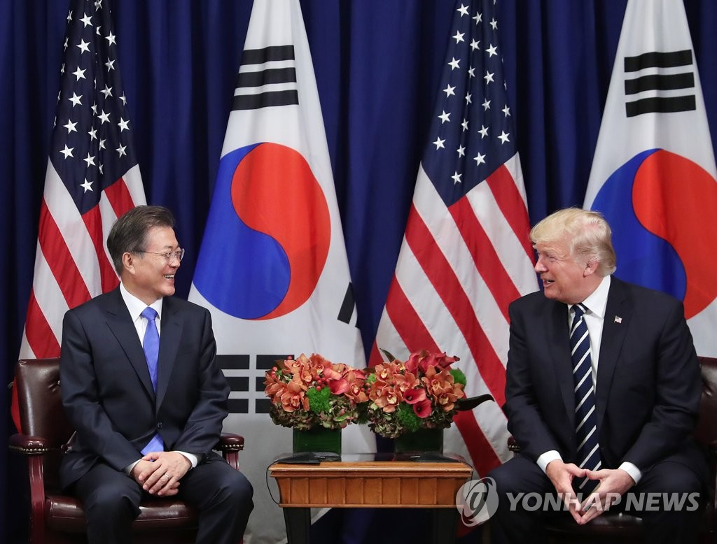 Moon Jae-in et Donald Trump se retrouvent à New York