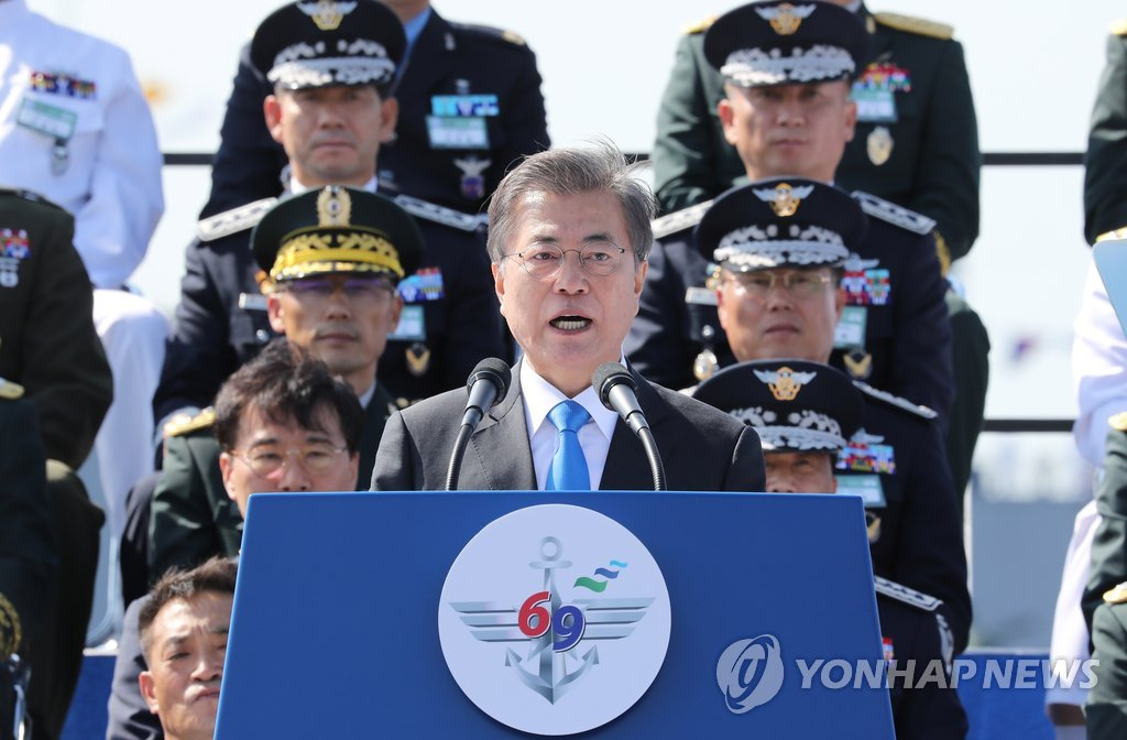South Korea: Taking military helm will scare the North