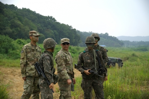 S.Korea, US Conduct Joint Short-range Air Defense Drill