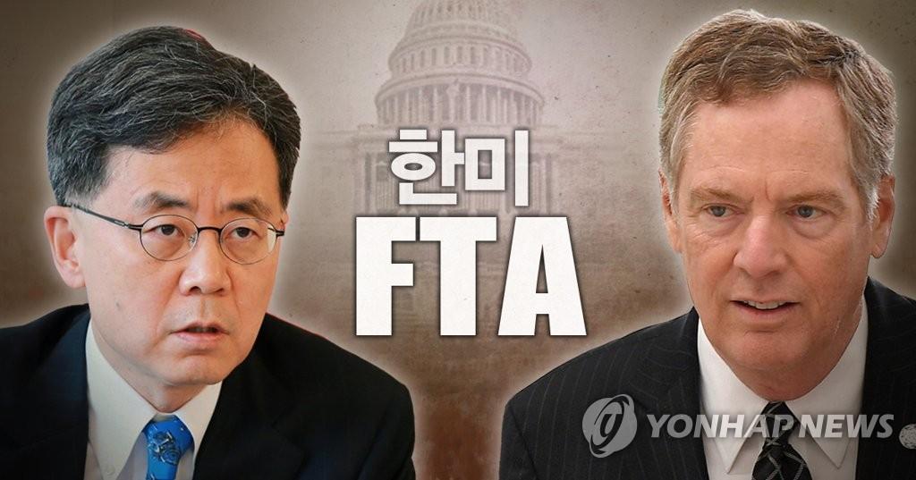 S. Korea-US 2nd Meeting on FTA on Wednesday