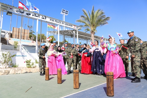 Troops Stationed Overseas Also Enjoy Chuseok