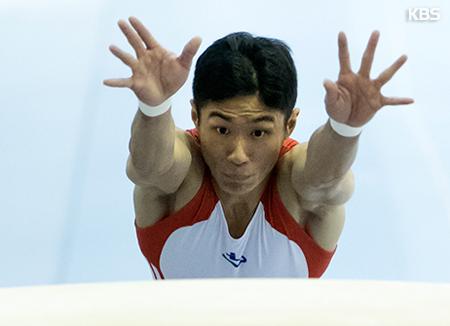 '도마의 신' 양학선, 세계선수권서 1위로 도마 결선 진출