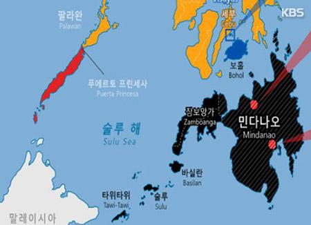 """한국 선박 필리핀 남부 '피랍주의보'…""""IS 추종반군 납치기도"""""""