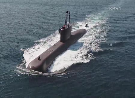 Sistem Pertempuran dan Sonar Kapal Selam 'Jangbogo-III' Dikembangkan dengan Teknologi Korsel