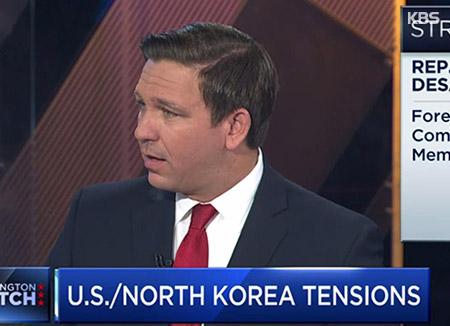 """미국 하원 안보소위원장 """"북한 미사일 막을 사이버 능력 있어"""""""