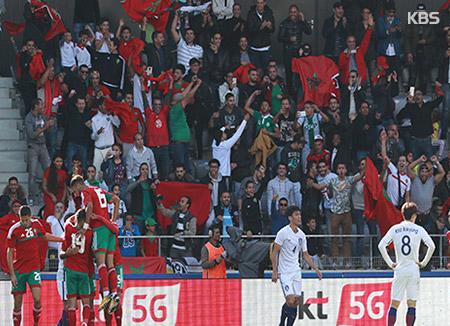한국 축구, 모로코 평가전서 1-3 완패