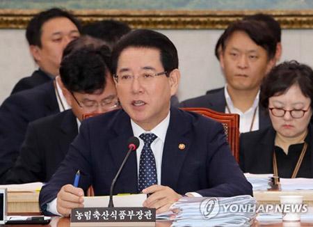 """김영록 장관, """"현재 북한에 쌀 지원 계획 없다"""""""