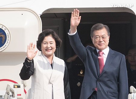 Pres. Moon to Embark on 3-Nation Southeast Asian Tour in Nov.