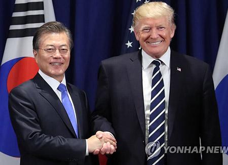 문 대통령·트럼프, 다음달 초 서울서 한미정상회담
