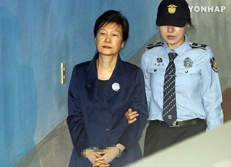Park Geun-hye va rester derrière les barreaux pour encore six mois au maximum