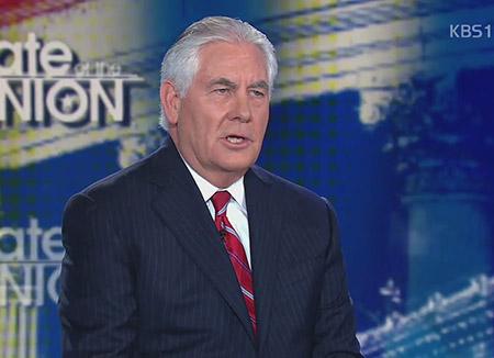 Tillerson : Trump donne toujours la priorité au dialogue dans le dossier nord-coréen