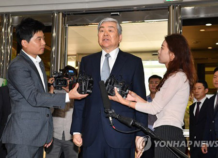 Polizei beantragt Haftbefehl gegen Präsident der Hanjin Gruppe