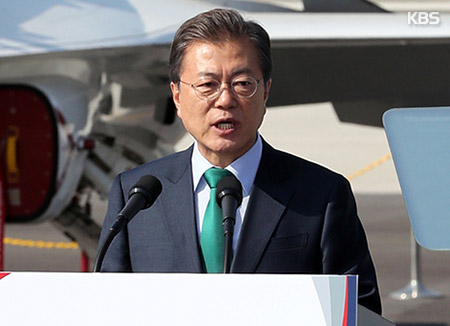 Moon Urges Defense Industry to Gain Independent Tech Capabilities