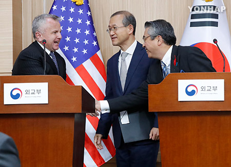 S. Korea, US, Japan Agree on Stable Management of Korean Situation