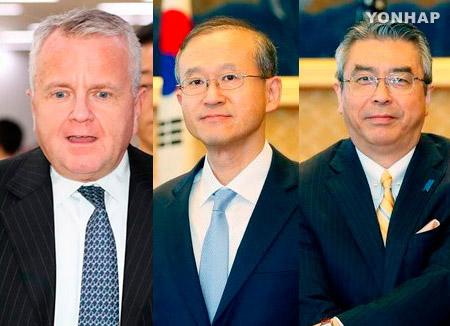 Südkorea, USA und Japan einigen sich auf stabiles Management der Nordkoreakrise