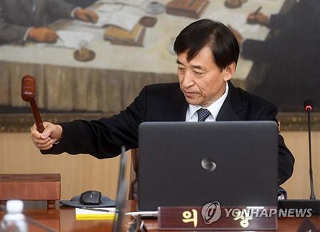 한국은행 기준금리 연 1.25% 동결…올해 성장률 전망 3%로 상향