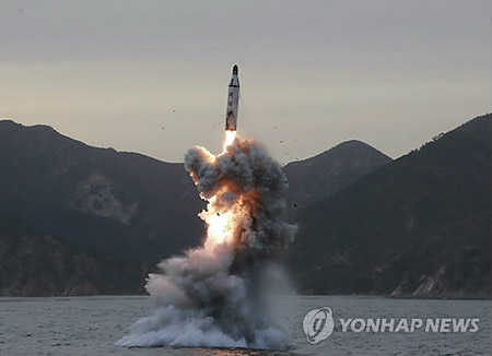 米情報機関 「北韓、弾道ミサイル潜水艦建造中」