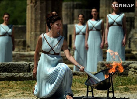 Torch for PyeongChang Games to be Lit in Greece Next Tues.