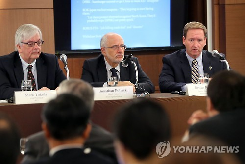 Heritage Foundation Researcher Praises Moon's N. Korea Policy