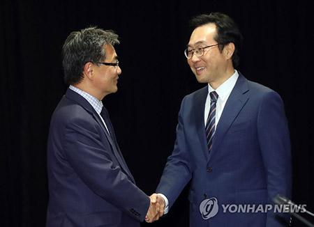 6か国協議の韓米首席代表が会合
