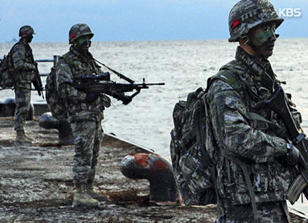 韓国軍が定例の独島防衛訓練 日本が抗議