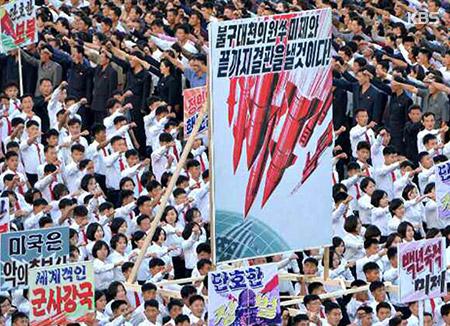 北韓 「任意の時刻に想像外の打撃」