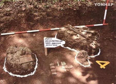 遺骨共同発掘 韓国国防は5カ所を検討