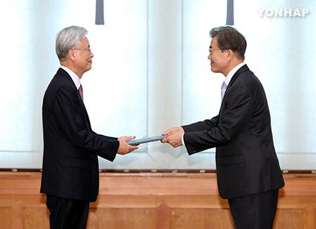 Duta Besar Korsel untuk AS Cho Yoon-je Memulai Tugas Secara Resmi