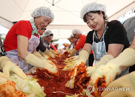 Kimchi Making Culture Becomes Intangible Cultural Asset