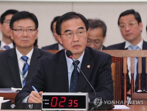 Unification Minister: N. Korea Threatens or Cajoles Defectors in South