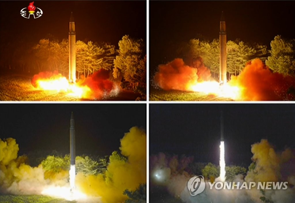 'N. Korea Working on Advanced Version of ICBM'