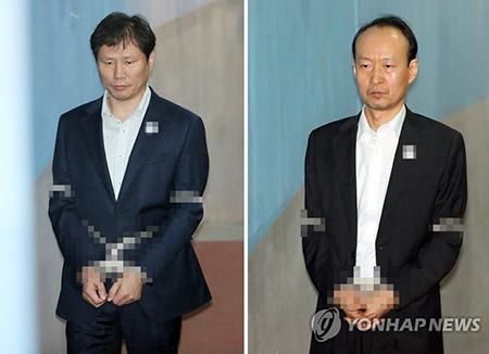 Deux anciens proches de Park Geun-hye placés en détention provisoire