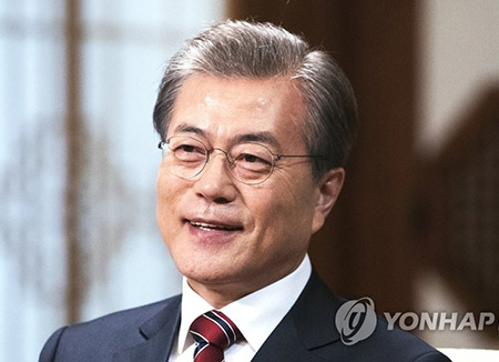 Moon's Approval Rating Surges over 80%