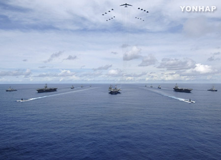 China Holds Major Drill in Response to Deployment of 3 US Carriers