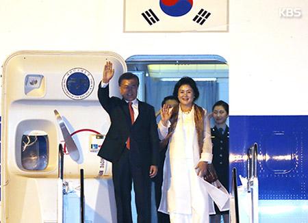 Präsident Moon reist nach Vietnam weiter