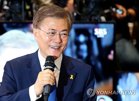 Tỷ lệ ủng hộ Tổng thống Moon Jae-in đạt 80,9% trong tháng 11