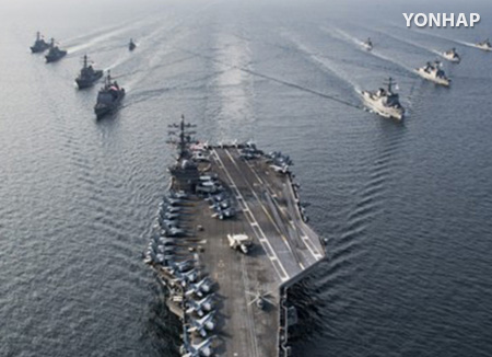 S. Korean Navy, 3 US Carriers to Conduct Joint Drill