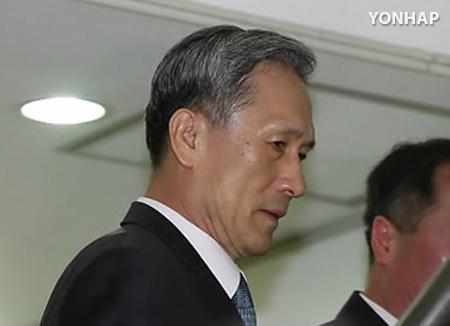 L'ancien ministre de la Défense placé en détention