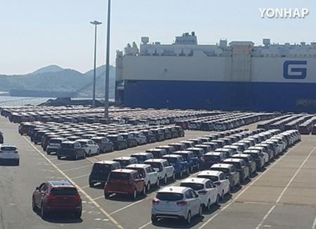 تزايد حصة كوريا الجنوبية من الصادرات العالمية