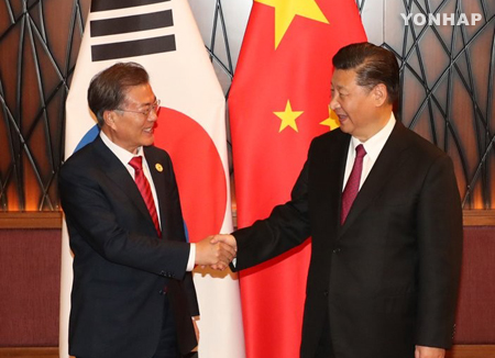 Korea, China mend ties, reaffirm efforts to denuclearize N