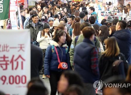 Los grupos de turistas chinos podrían regresar a Corea en febrero