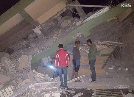 """이란-이라크 국경서 7.3 강진…""""60여명 사망·수만명 이재민"""""""