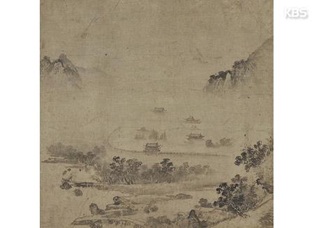 """16세기 조선 산수화 일본서 돌아왔다…""""국내 최고 소상팔경도"""""""