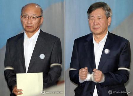 문형표·홍완선, 항소심도 나란히 징역 2년 6개월