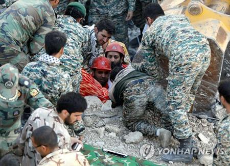 Corea del Sur expresa sus condolencias a Irán e Irak por el terremoto