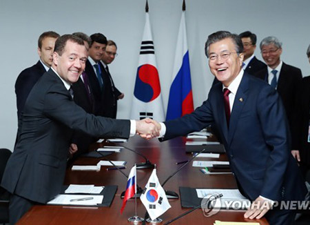 Korean president to meet Russian prime minister over bilateral ties, N. Korea