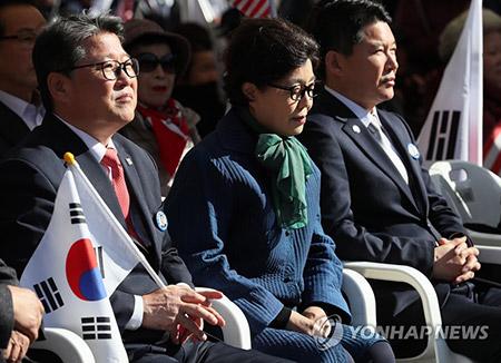 박정희 전 대통령 탄생 100주년…보수단체 기념식·행진