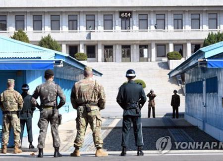 Vereinigter Generalstab: Nordkorea schoss mit AK-47 Gewehr auf flüchtenden Kameraden