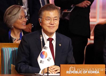 문 대통령, EAS 정상회의 참석…'북핵 국제공조' 강화 촉구