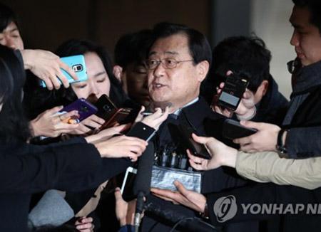 前国情院院长李丙琪被紧急逮捕